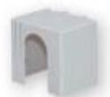 Защитная крышка PRS 3 MB 1p, верхняя/нижняя арт.1696122