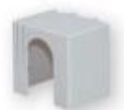 Защитная крышка PRS 00 MB 1p, верхняя/нижняя арт.1696120