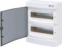 Щит наружный распределительный ECT 24PT (24мод.прозр.дверь) арт. 1101003