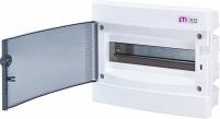Щит внутренний распределительный ECМ 12PT (12мод.прозр.дверь) арт. 1101011