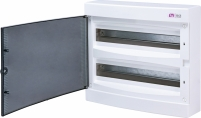 Щит наружный распределительный ECT 2x18 PT (36мод.прозр.дверь) арт. 1101081