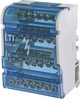 Блок распределительный EDB-407 4p 125A (7выходов) арт. 1102303