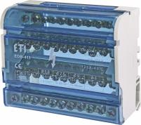 Блок распределительный EDB-411 4p 125A (11выходов) арт. 1102304