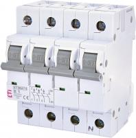 Авт. выключатель ETIMAT 6 3p+N B 1А (6 kA) арт. 2116509
