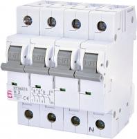 Авт. выключатель ETIMAT 6 3p+N B 2А (6 kA) арт.2116510