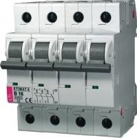 Авт. выключатель ETIMAT 6 3p+N B 4А (6 kA)