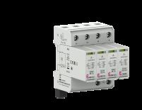 Ограничитель перенапряжения ETITEC SM T12 300/12,5 (3+1, 4p, TT, TN-S) RC