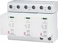 Ограничитель перенапряжения ETITEC SM T12 300/25 (3+0, 6p, TNC)