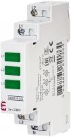 Трехфазный индикатор наличия напряжения SON H-3G (3x зеленый LED)
