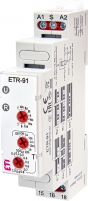 Многофункциональное реле времени ETR-91 12-240V AC/DC (1x16A_AC1) арт.2473070