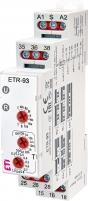Многофункциональное реле времени ETR-93 12-240V AC/DC (3x8A_AC1)
