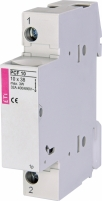 Разъединитель для цилиндрических предохранителей PCF 10 1p арт.002550001