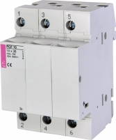 Разъединитель для цилиндрических предохранителей PCF 10 3p арт.002550004
