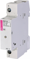 Разъединитель для цилиндрических предохранителей PCF 10 1p - LED арт.002550011