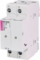 Разъеденитель PCF 10 2P LED 25А 1000V DC арт.002550213