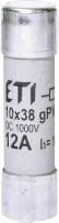 Предохранитель плавкий CH 10 PV 12A 1000V арт.002625106