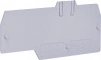 Замыкающая крышка (1 вход, 2 выхода; серая) ESP-HMT.4/1+2/PT