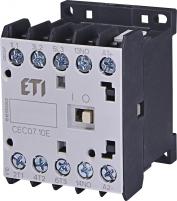 Контактор миниатюрный  CEC 07.10 24V AC (7A; 3kW; AC3)