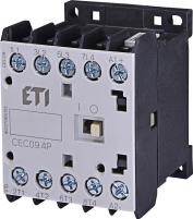 Контактор миниатюрный  CEC 09.4Р 24V DC (9A; 4kW; AC3) 4р (4 н.о.)