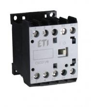 Контактор миниатюрный  CEC 12.4Р 24V DC (12A; 5,5kW; AC3) 4р (4 н.о.)
