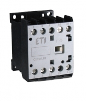 Контактор миниатюрный  CEC 16.4Р 24V DC (16A; 7,5kW; AC3) 4р (4 н.о.)