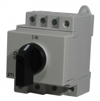 """Выключатель нагрузки LS 16 SMA A4  4р """"1-0"""" 16A 1000V DC арт.004660063"""