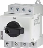 """Выключатель нагрузки LS 32 SMA A4  4р """"1-0"""" 32A 1000V DC арт.004660065"""