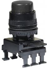 Кнопка-модуль выступающая c фиксацией НF45C3 (черный) арт.004770017