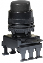 Кнопка-модуль выступающая c фиксацией НF45C3 (черный) арт.004770017   - купить по выгодной цене в Москве : EtiRussia.ru