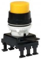 Кнопка-модуль выступающая c фиксацией НF45C4 (желтый) арт.004770018