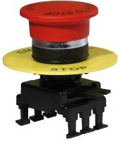 Кнопка-грибок НG55B1 отключение вытяг. (40 мм, красный) арт.004770024