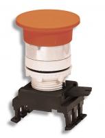 Кнопка-грибок HU55B1 откл. нажатием (40 мм, красный) арт.004770025