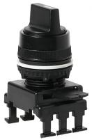 Переключатель поворотн. 3-х поз. HN65C3 без фикс. справа 1-0-2, 30° (черн.) арт.004770096