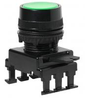 Кнопка-модуль утопленная с подсветкой HD16С2 (зеленый) арт.004770132