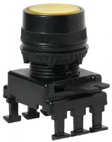 Кнопка-модуль утопленная с подсветкой HD16C4 (желтый) арт.004770133