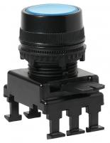 Кнопка-модуль утопленная с подсветкой HD16C6 (синий) арт.004770135