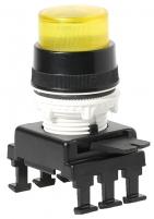 Кнопка-модуль выступающая с подсветкой HD46C4 (желтый) арт.004770140