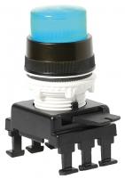 Кнопка-модуль выступающая с подсветкой HD46C6 (синий) арт.004770142