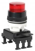 Кнопка-модуль выступающая с фикс. и с подсв. HF46C1 (красный) арт.004770145