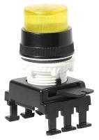 Кнопка-модуль выступающая с фикс. и с подсв. HF46C4 (желтый) арт.004770147