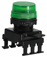 Сигн.лампа-модуль матовая HB07F2 (зеленая) арт.004770209