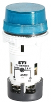 Лампа сигнальная матовая TL06U1 24V AC/DC (синяя) арт.004770230