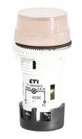 Лампа сигнальная матовая TL05U1 24V AC/DC (опал) арт.004770232