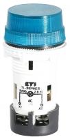 Лампа сигнальная матовая TL06X1 240V AC (синяя) арт.004770248