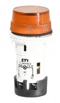Лампа сигнальная матовая TL07X1 240V AC (оранжевая) арт.004770249