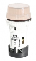 Лампа сигнальная матовая TL05X1 240V AC (опал) арт.004770250