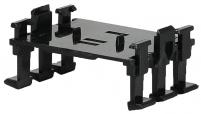 Скоба 3-х модульная 2 уровня HC122030 для вертик. монтажа арт.004770323