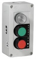 """Кноп.пост 3-мод. JCZ4B2A1 лампа+2 утопл.кнопки  """"on/off"""" арт.004770368"""