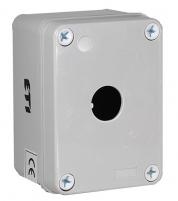 Корпус HF999001 серый 1 отверстие (крупногабаритный) арт.004770412
