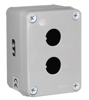 Корпус HF999002 серый 2 отверстия арт.004770413
